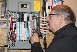 Jim inspection electrical panel
